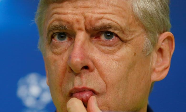 Soccer Football - FC Basel v Arsenal- UEFA Champions League Group Stage - Group A - Basel, Switzerland - 05/12/16 - Arsenal head coach Arsene Wenger attends a news conference. Reuters/Arnd Wiegmann