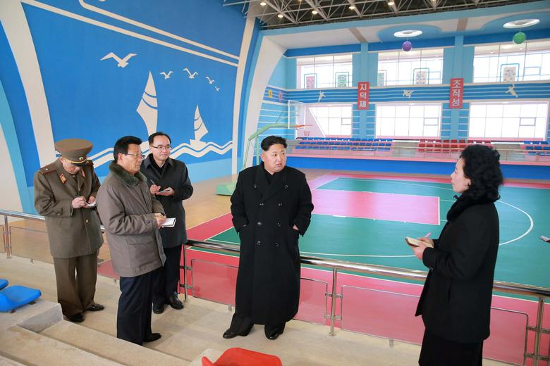 North Korean leader Kim Jong Un visits the remodelled December 6 Children's Camp in Kangwon Province in this undated photo released by North Korea's Korean Central News Agency (KCNA) in Pyongyang December 7, 2016. KCNA via REUTERS