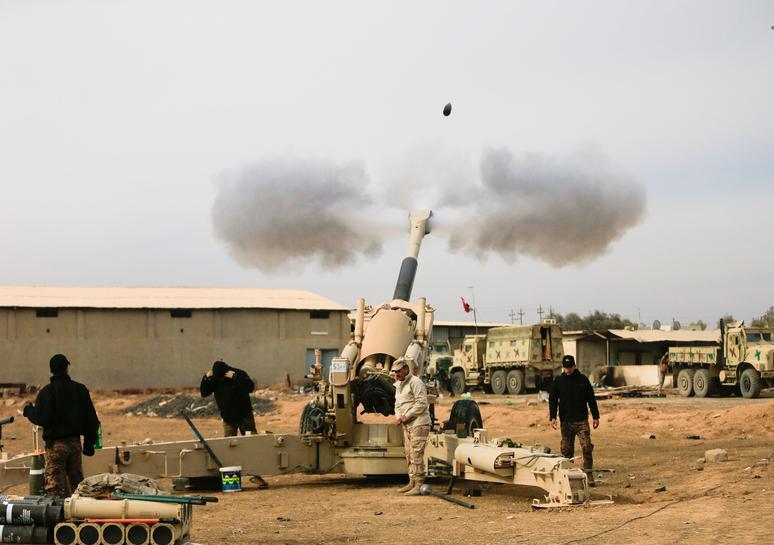 Iraq says it destroys Mosul car bomb factories