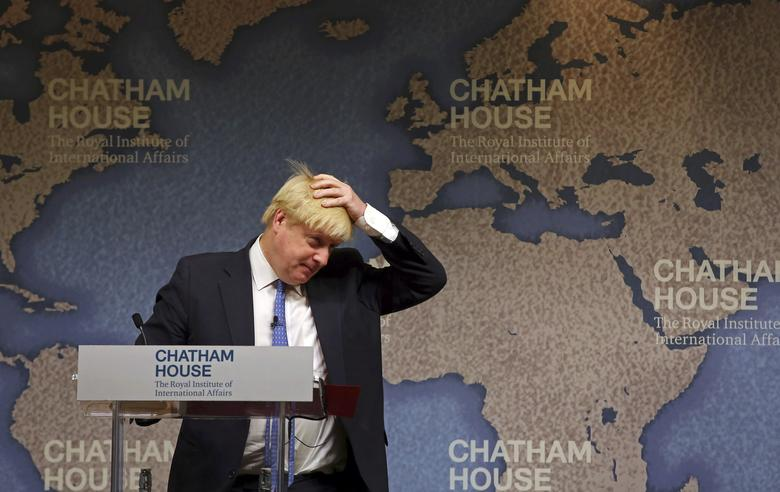 Britain's Foreign Secretary Boris Johnson delivers a speech at Chatham House in London, Britain December 2, 2016. REUTERS/Gareth Fuller/Pool