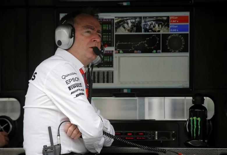 Formula One - Grand Prix of Europe - Baku, Azerbaijan - 17/6/16 - Mercedes AMG Formula One technical chief Paddy Lowe looks on during the first practice session.REUTERS/Maxim Shemetov/Files