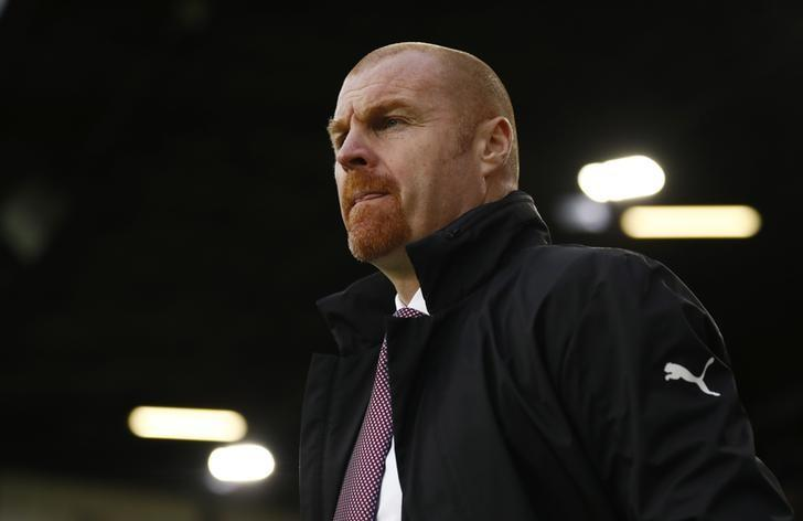 Burnley manager Sean Dyche. Burnley v AFC Bournemouth - Premier League - Turf Moor - 10/12/16. Action Images via Reuters / Jason Cairnduff/ Livepic