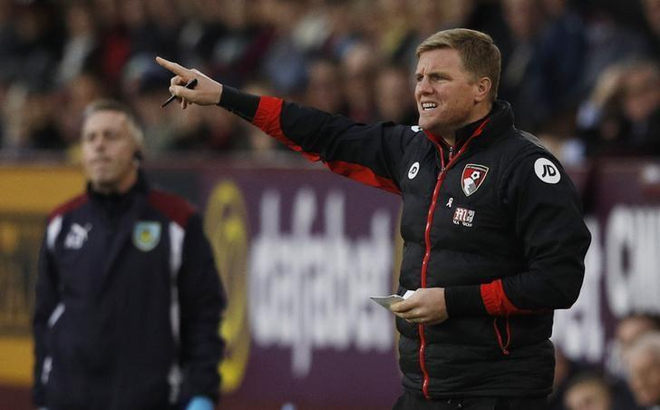 Football Soccer Britain - Burnley v AFC Bournemouth - Premier League - Turf Moor - 10/12/16 Bournemouth manager Eddie Howe  Reuters / Phil Noble/Livepic