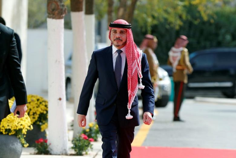 Jordan's Prince Ali Bin Al Hussein arrives to attend the opening ceremony of the first ordinary session of 18th Parliament in Amman, Jordan November 7, 2016. REUTERS/Muhammad Hamed