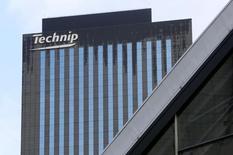Technip, qui est à suivre à la Bourse de Paris, a annoncé jeudi avoir remporté auprès de Shell Australia un contrat portant sur des services d'ingénierie et de gestion de projet. /Photo d'archives/REUTERS/Jacky Naegelen