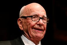 Rupert Murdoch, News Corp. and 21st Century Fox CEO, speaks during the annual Lowy Lecture at the Sydney Town Hall October 31, 2013.   REUTERS/David Gray/File photo