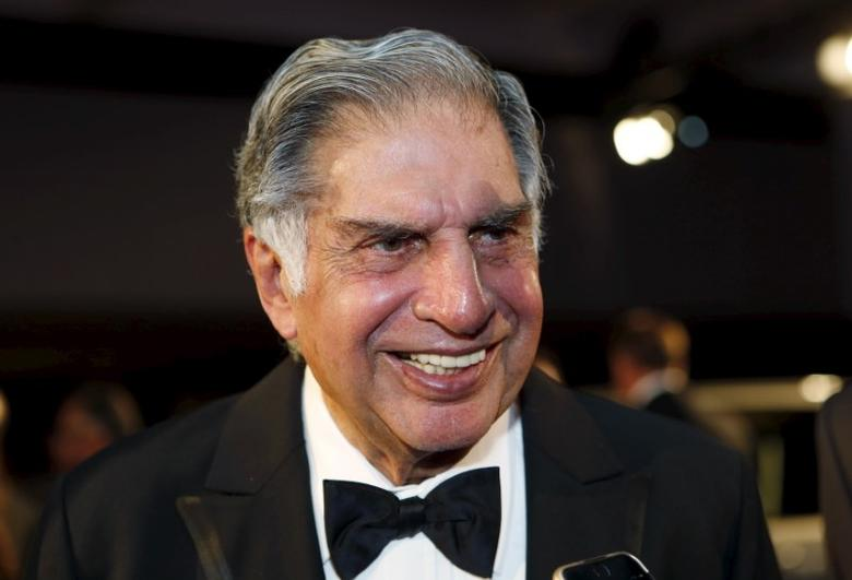 Ratan Tata, chairman emeritus of Tata Sons, attends an event where he was inducted into the 2015 Automotive Hall of Fame in Detroit, Michigan July 23, 2015.  REUTERS/Rebecca Cook
