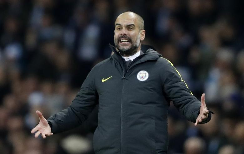 Britain Football Soccer - Manchester City v Arsenal - Premier League - Etihad Stadium - 18/12/16 Manchester City manager Pep Guardiola  Action Images via Reuters / Carl Recine Livepic