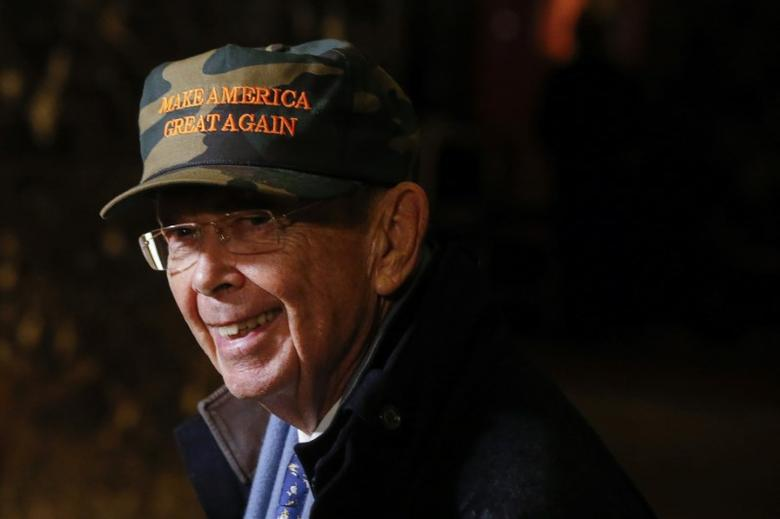 Billionaire investor Wilbur Ross has been named commerce secretary. Ross, 78, heads the private equity firm W.L. Ross & Co., which is known for buying up failed companies. REUTERS/Lucas Jackson