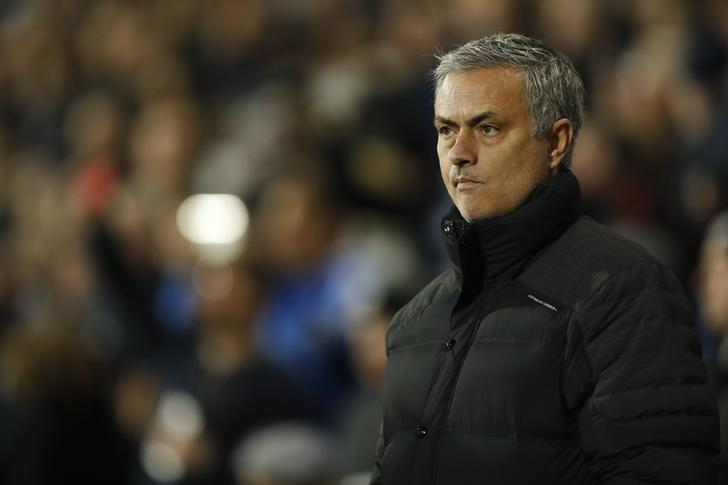 Britain Football Soccer - West Bromwich Albion v Manchester United - Premier League - The Hawthorns - 17/12/16 Manchester United manager Jose Mourinho before the match Action Images via Reuters / John Sibley/ Livepic/ Files