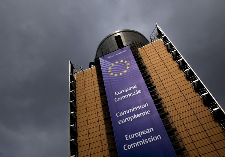 The European Commission headquarters is seen in Brussels April 22, 2015.  REUTERS/Yves Herman