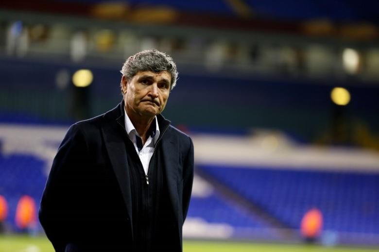 Dnipro Dnipropetrovsk manager Juande Ramos before the game Mandatory Credit: Action Images / Steven Paston