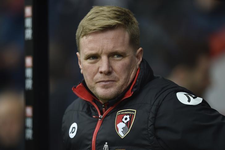 Britain Football Soccer - AFC Bournemouth v Southampton - Premier League - Vitality Stadium - 18/12/16 Bournemouth manager Eddie Howe before the match  Reuters / Hannah McKay Livepic