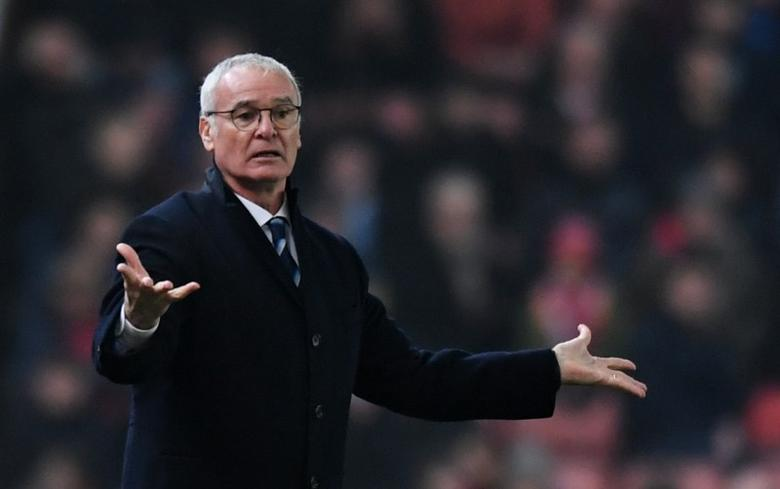 Britain Football Soccer - Stoke City v Leicester City - Premier League - bet365 Stadium - 17/12/16 Leicester City manager Claudio Ranieri  Reuters / Anthony Devlin Livepic