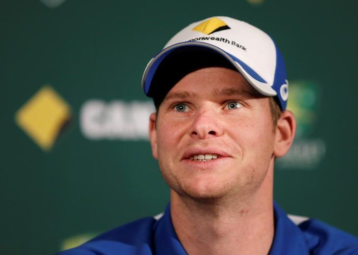Cricket - Australia v South Africa - Third Test cricket match - Adelaide Oval, Adelaide, Australia - 23/11/16. Australian cricket captain Steve Smith speaks at a news conference on the eve of their third test against South Africa. REUTERS/Jason Reed