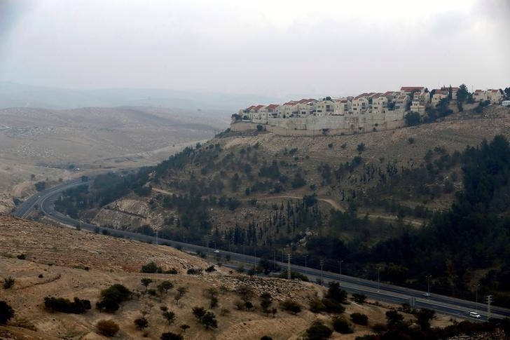 A general view shows part of the Israeli settlement of Maale Edumim, in the occupied West Bank December 24, 2016.  REUTERS/Amir Cohen