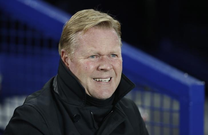 Britain Football Soccer - Everton v Liverpool - Premier League - Goodison Park - 19/12/16 Everton manager Ronald Koeman before the match Action Images via Reuters / Carl Recine Livepic/Files
