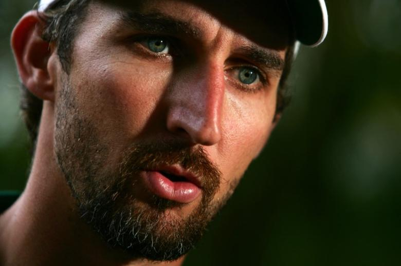 File photo of former Australian test cricketer Jason Gillespie. REUTERS/Tim Wimborne
