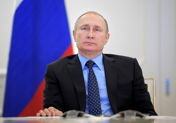 Russian President Vladimir Putin  in Moscow, Russia, December 27, 2016. Sputnik/Alexei Druzhinin/Kremlin via REUTERS