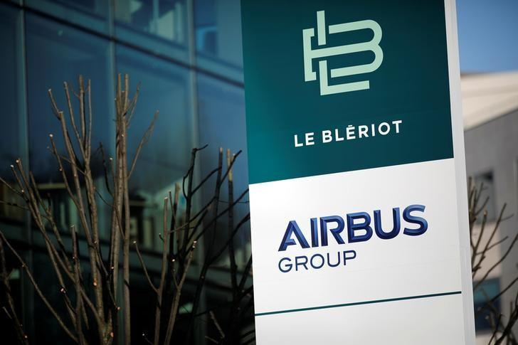 A picture shows Airbus Group site in Suresnes, near Paris, France, December 15, 2016. REUTERS/Benoit Tessier