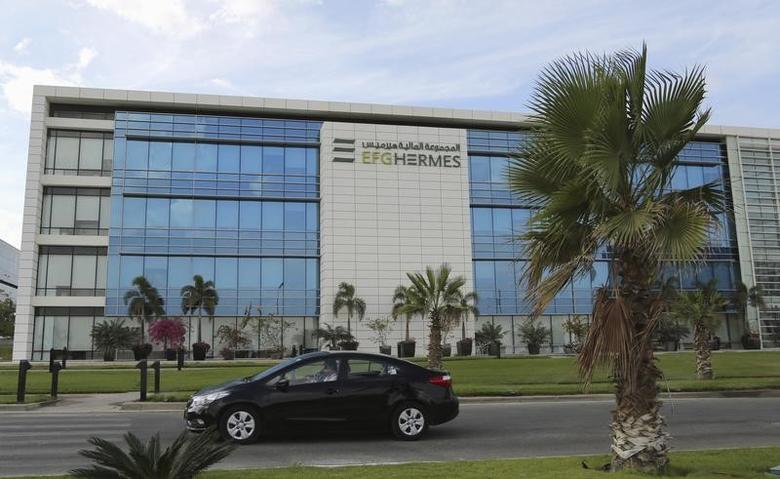 The building of EFG-Hermes, also known as Egyptian Financial Group Hermes Holding Co SAE, is seen at the Smart Village in the outskirts of Cairo, Egypt, October 27, 2015. REUTERS/Asmaa Waguih