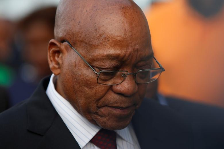 South Africa's President Jacob Zuma.  REUTERS/Rogan Ward