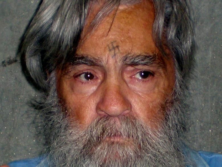 File Photo: Convicted mass murderer Charles Manson is shown in this handout picture from the California Department of Corrections and Rehabilitation dated June 16, 2011 and released to Reuters April 8, 2012.  REUTERS/CDCR/Handout via REUTERS