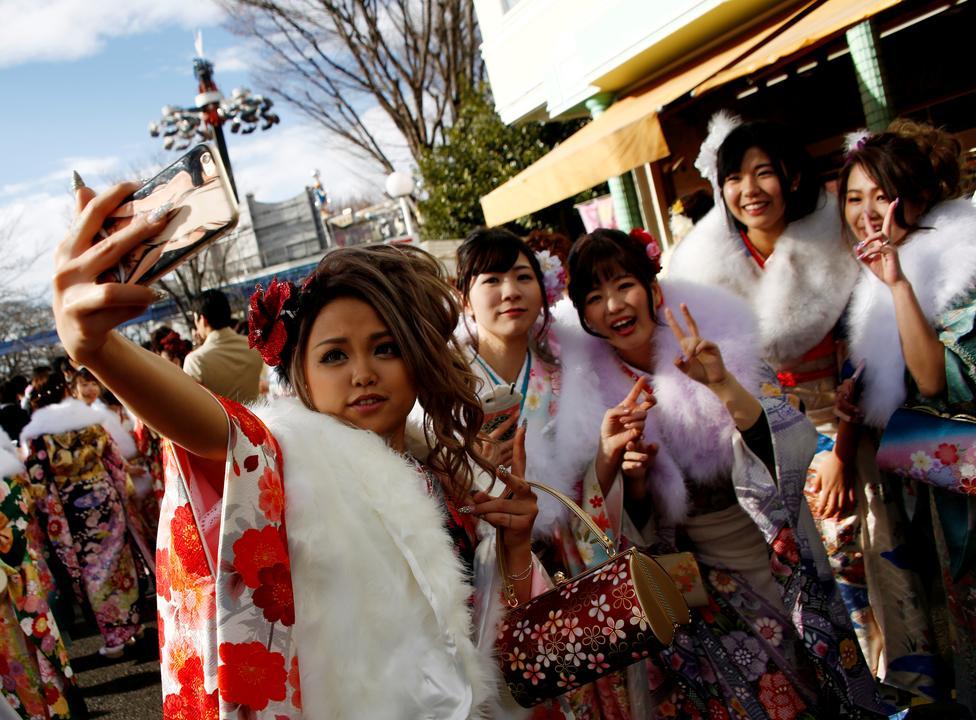 جشن, سن و سال, ژاپن, گزارش تصویری, 2017