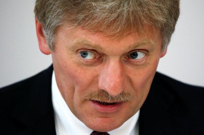 Kremlin spokesman Dmitry Peskov speaks during a news briefing on the sidelines of the Russia-ASEAN summit in Sochi, Russia, May 19, 2016. REUTERS/Sergei Karpukhin/Files