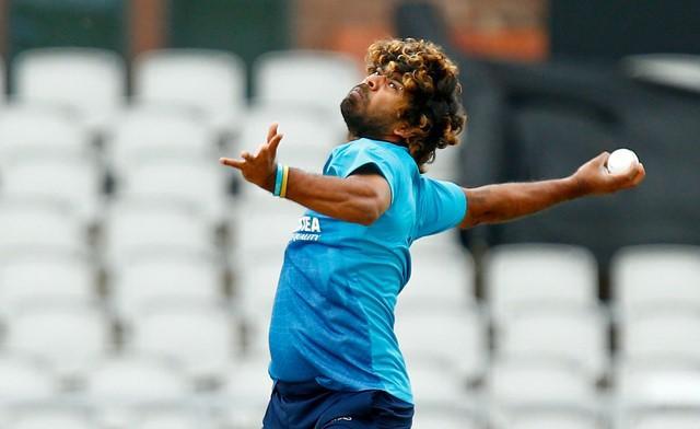 Cricket - Sri Lanka Nets - Emirates Old Trafford - 27/5/14 Sri Lanka's Lasith Malinga bowls during nets Mandatory Credit: Action Images / Jason Cairnduff Livepic