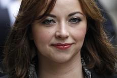 FILE PHOTO - British singer Charlotte Church arrives at a division of the High Court, in central London, February 27, 2012.  REUTERS/Andrew Winning/File Photo