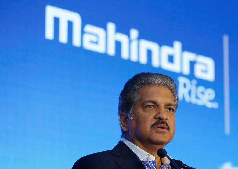 Anand Mahindra, chairman and managing director of Mahindra Group, attends a news conference in Mumbai, India, September 8, 2016. REUTERS/Danish Siddiqui