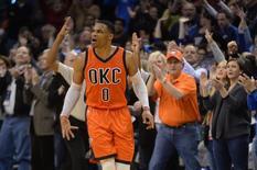 18e triple double pour Westbrook/Photo prise le 12 décembre 2016/REUTERS/� USA Today Sports / Reuters