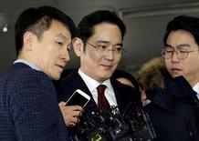 Chefe do Samsung Group, Jay Y. Lee, em Seul.     12/01/2017           REUTERS/Ahn Young-joon/Pool