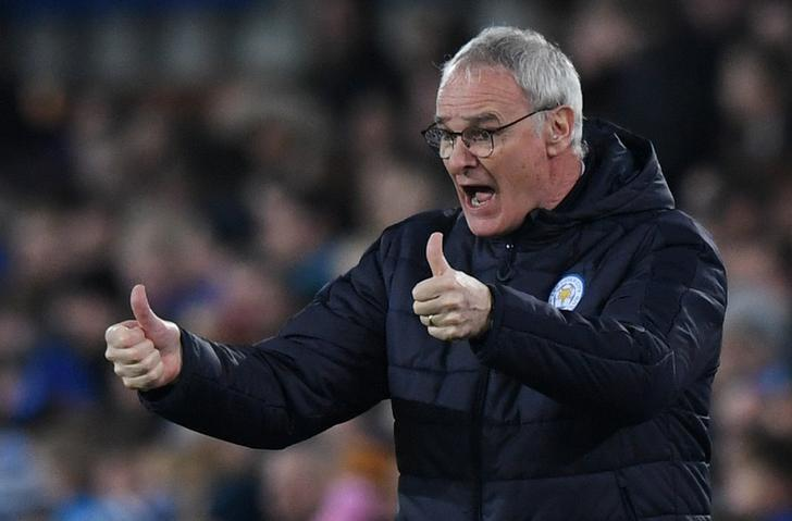 Britain Football Soccer - Everton v Leicester City - FA Cup Third Round - Goodison Park - 7/1/17 Leicester City manager Claudio Ranieri Reuters / Anthony Devlin