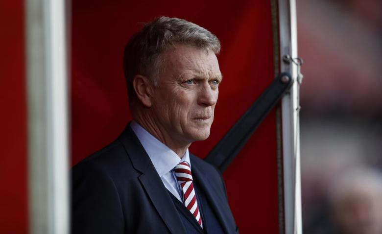 Sunderland manager David Moyes before the match  Action Images via Reuters / Lee Smith