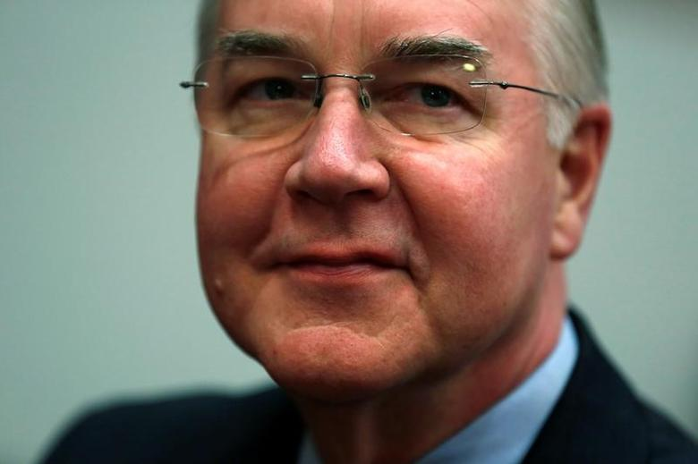 Representative Tom Price (R-GA), President-elect Donald Trump's nominee to be secretary of health and human services, arrives to meet with U.S. Senator Chuck Grassley in Grassley's office on Capitol Hill in Washington, U.S. December 8, 2016.  REUTERS/Jonathan Ernst