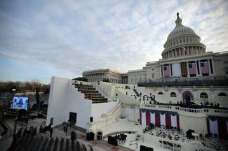 Washington prepares for Trump's inauguration