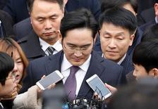Líder do grupo Samsung, Jay Y. Lee.    18/01/2017   REUTERS/Kim Hong-Ji