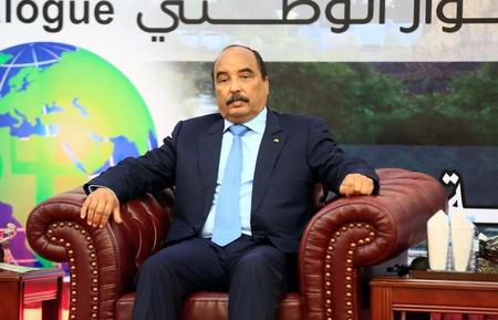 رئيس موريتانيا يصل إلى جامبيا لإجراء محادثات مع جامع