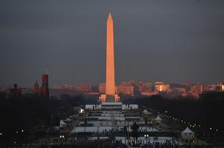 Dawn on Inauguration Day