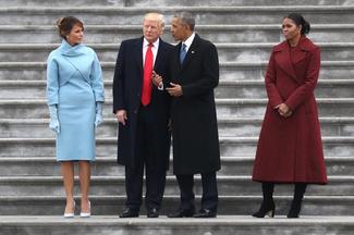 Melania Trump's inaugural style