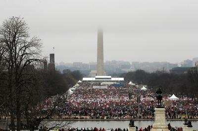 Women march on Washington