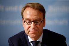 Central Bank (Bundesbank) Chief Jens Weidmann attends a press conference after the Franco-German Financial Council meeting in Berlin, Germany, September 23, 2016.    REUTERS/Axel Schmidt