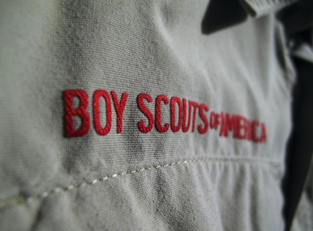 A Boy Scouts of America uniform is pictured in San Diego. REUTERS/Staff