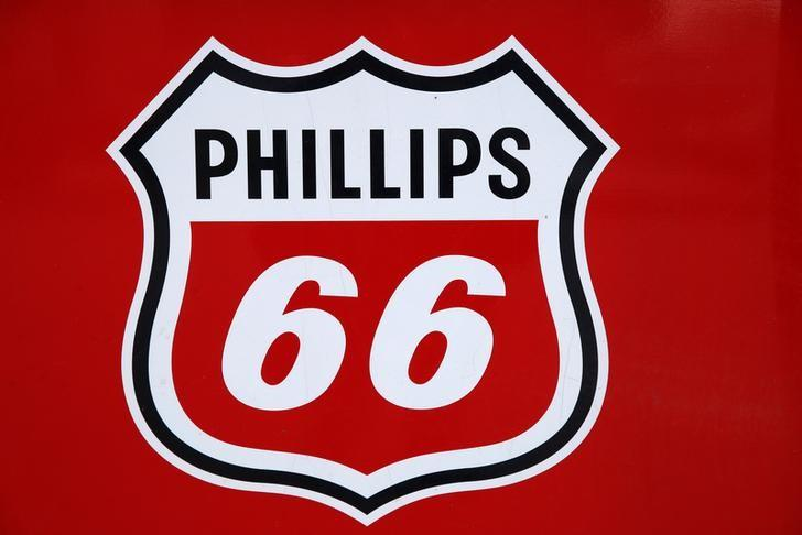 A Phillips 66 sign is seen at a gas station in the Chicago suburb of Wheeling, Illinois, U.S., October 27, 2016. REUTERS/Jim Young