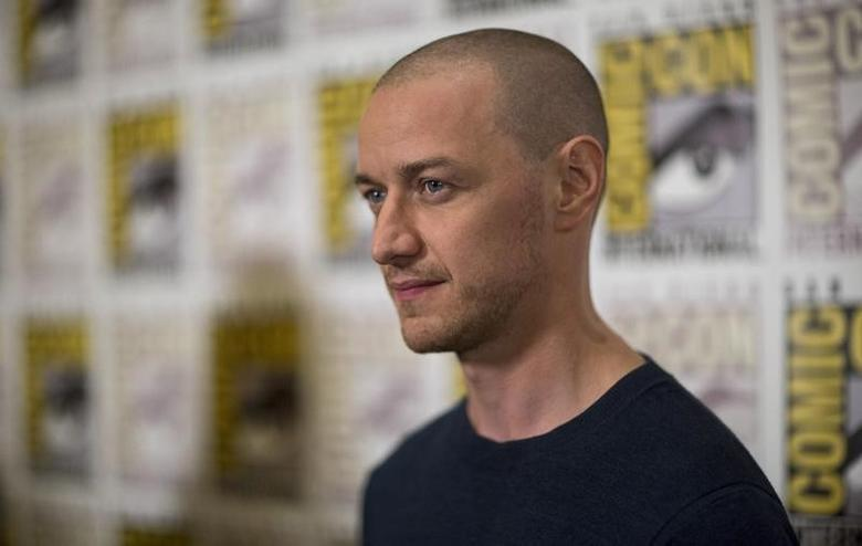 James McAvoy in San Diego, California July 11, 2015. REUTERS/Mario Anzuoni