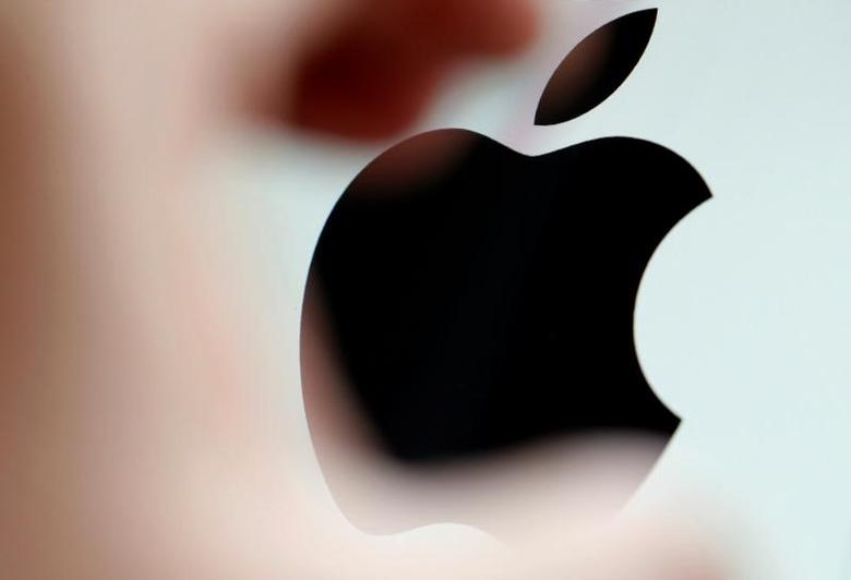 The Apple logo is seen on a computer screen in this illustration photo taken in Bordeaux, France, February 1, 2017. REUTERS/Regis Duvignau