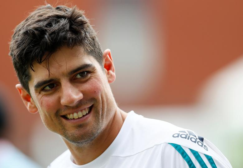 FILE PHOTO:  Britain Cricket - England Nets - Emirates Old Trafford - 21/7/16England's Alastair Cook during netsAction Images via Reuters / Jason Cairnduff / Livepic / File Photo