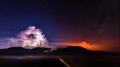 The eruption of Piton de la Fournaise